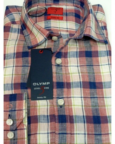 Chemise Olymp Level Five 100% Lin
