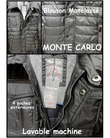 Blouson Matelasse Monte Carlo -20%