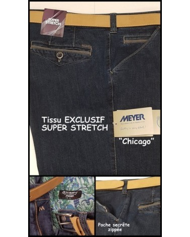 Pantalon Meyer Chicago Super Stretch