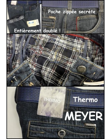 Pantalon Meyer Diego Jean's Thermo