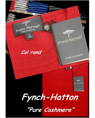 Pull Col Rond Fynch-hatton