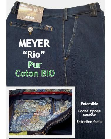 "PANTALON MEYER ""RIO"" PUR COTON BIO"
