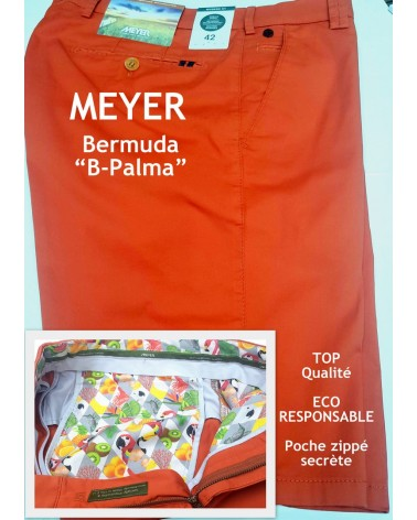 BERMUDA MEYER B-PALMA corail